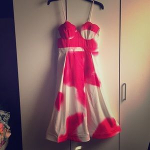 Tea & Cup Valentine's Day date dress